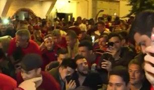 Copa Libertadores: Flamengo campeón y así lo celebran los hinchas en las calles de Miraflores