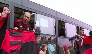 Copa Libertadores: el camino de la hinchada del Flamengo hacia el Monumental