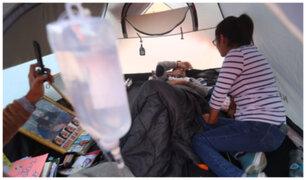 Mark Vito en huelga de hambre: sufre descompensación y es atendido de emergencia