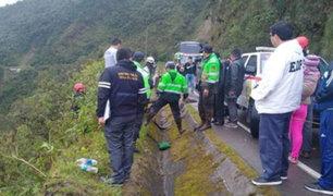 Huánuco: 10 muertos y 20 heridos tras caída de bus a abismo de 200 metros