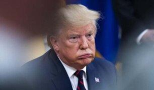 """Trump al Congreso por juicio político: """"Si van a destituirme, háganlo rápido"""""""