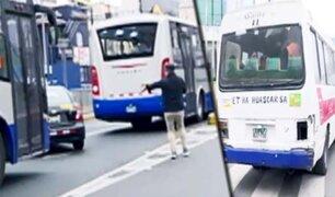 Desde hoy se aplican multas a colectiveros que invadan carriles del Corredor Azul