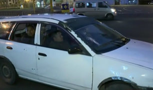 Gremios de taxis colectivos acatarán paro hoy lunes 25 de noviembre