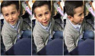 """""""El colegio lo inventó un loco"""", la respuesta de un niño tras ser regañado"""