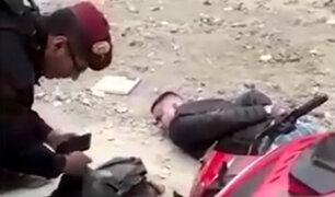 Comas: capturan a peligroso 'raquetero' tras robar celular a mujer