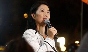 Keiko Fujimori: acusación fiscal estaría lista entre enero y febrero