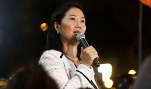 Keiko Fujimori: Tribunal Constitucional anula prisión preventiva