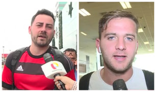 Hinchas de River y Flamengo retornaron a sus países agradecidos con el Perú