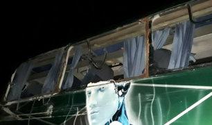 Sport Boys: bus que retornaba a Lima con hinchas sufrió accidente