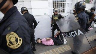 Paro de colectiveros: violencia y bloqueos en principales avenidas