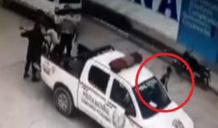 Junín: ladrón escapó de patrullero aprovechando distracción de policías