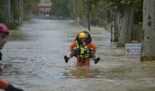 Cuatro muertos y dos desaparecidos dejan inundaciones al sureste de Francia