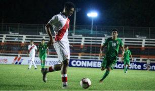 Sudamericano Sub-15: Perú cayó 2-1 ante Bélgica