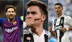 Paulo Dybala explica cómo es jugar con Messi y Cristiano