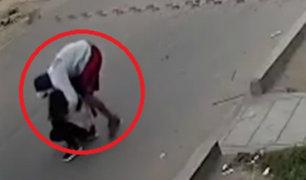 Chincha: Policía Nacional investiga violento robo a joven
