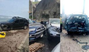 Costa Verde: liberan conductor que provocó múltiple choque en playa 'La Pampilla'
