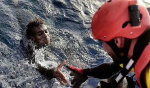 Italia: este fue el dramático rescate de migrantes en el mar