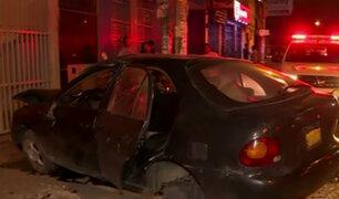 Panamericana Norte: 3 heridos dejó choque por conductor aparentemente ebrio