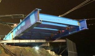 Puente que unirá Miraflores y San Isidro sería inaugurado antes de Navidad