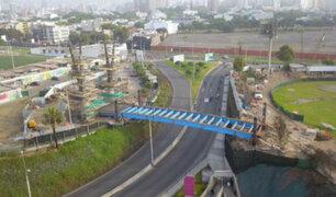 Puente que une Miraflores y San Isidro permitirá atender emergencias en menor tiempo