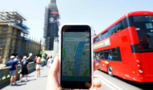 Niegan licencia a Uber para operar por calles de Londres