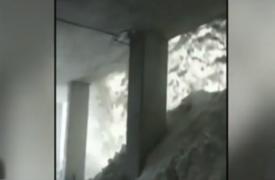 Conductores salvaron de morir aplastados por avalancha en Suiza