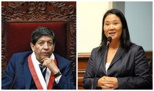 Magistrado Ramos: Keiko Fujimori no tiene fuerza suficiente para obstruir a la justicia