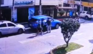 Los Olivos: cámaras de seguridad captaron detención de Villanueva