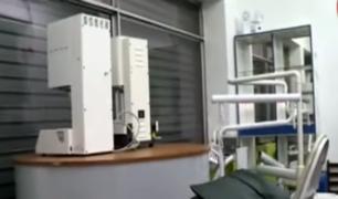 Cercado de Lima: frustran robo de valiosos equipos dentales