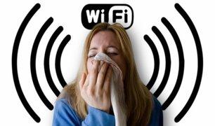 El extraño caso de mujer que padece alergia al WiFi