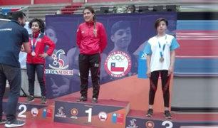 Yanet Sovero ganó medalla de oro en lucha olímpica en Chile