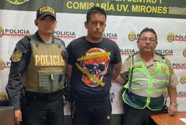 Capturan a delincuente con más de 10 denuncias por robo tras cometer nuevo asalto