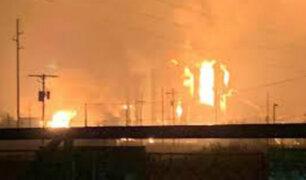 EEUU: al menos tres heridos deja explosión en planta petroquímica de Texas