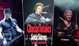 Soda Stereo realizará concierto en Lima en homenaje a Gustavo Cerati