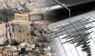 Grecia: terremoto de magnitud 6,1 sacude la isla de Creta
