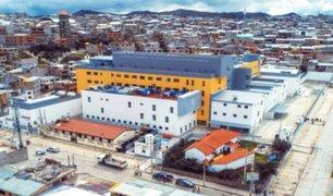 Moderno hospital Daniel A. Carrión de Pasco ya atiende pacientes