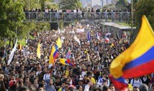 Se realizó nueva jornada de paro nacional en Colombia