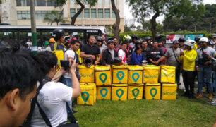 Glovo se pronunció por las protestas de sus repartidores que reclaman derechos laborales