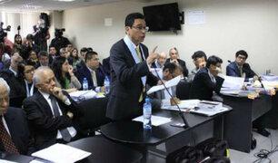 César Gutiérrez: Prisión preventiva no permite discutir tema de laudos arbitrales