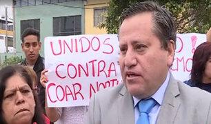 Alcalde de Pueblo libre denunciará a empresa que intentó colocar antena sin autorización