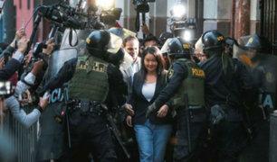 Tribunal Constitucional publica hoy resolución que deja en libertad a Keiko Fujimori