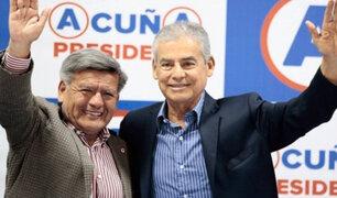 César Acuña: líder de APP dejó sin efecto invitación a César Villanueva