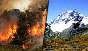 Estudio revela que los incendios en la Amazonia derriten los glaciares andinos