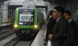 Línea 1 del Metro de Lima adelanta su horario de atención para este viernes 29 de noviembre