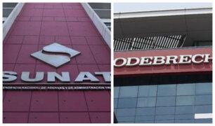 Sunat cobró más de S/ 65 millones adicionales de deuda tributaria a Odebrecht