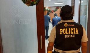 Caso Keiko Fujimori: Fiscalía allanó oficinas de la Confiep