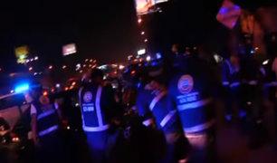 Panamericana Sur: sujetos se hacían pasar como colectiveros para asaltar