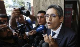 "Fiscal Pérez sobre allanamiento a Confiep: ""Es falso que se esté cometiendo abuso"""