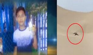 Bullying: adolescente fue asesinado y abandonado en arenales de Villas de Ancón