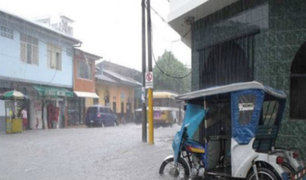 Iquitos: fuertes lluvias provocan colapso de alcantarillado e inundan viviendas
